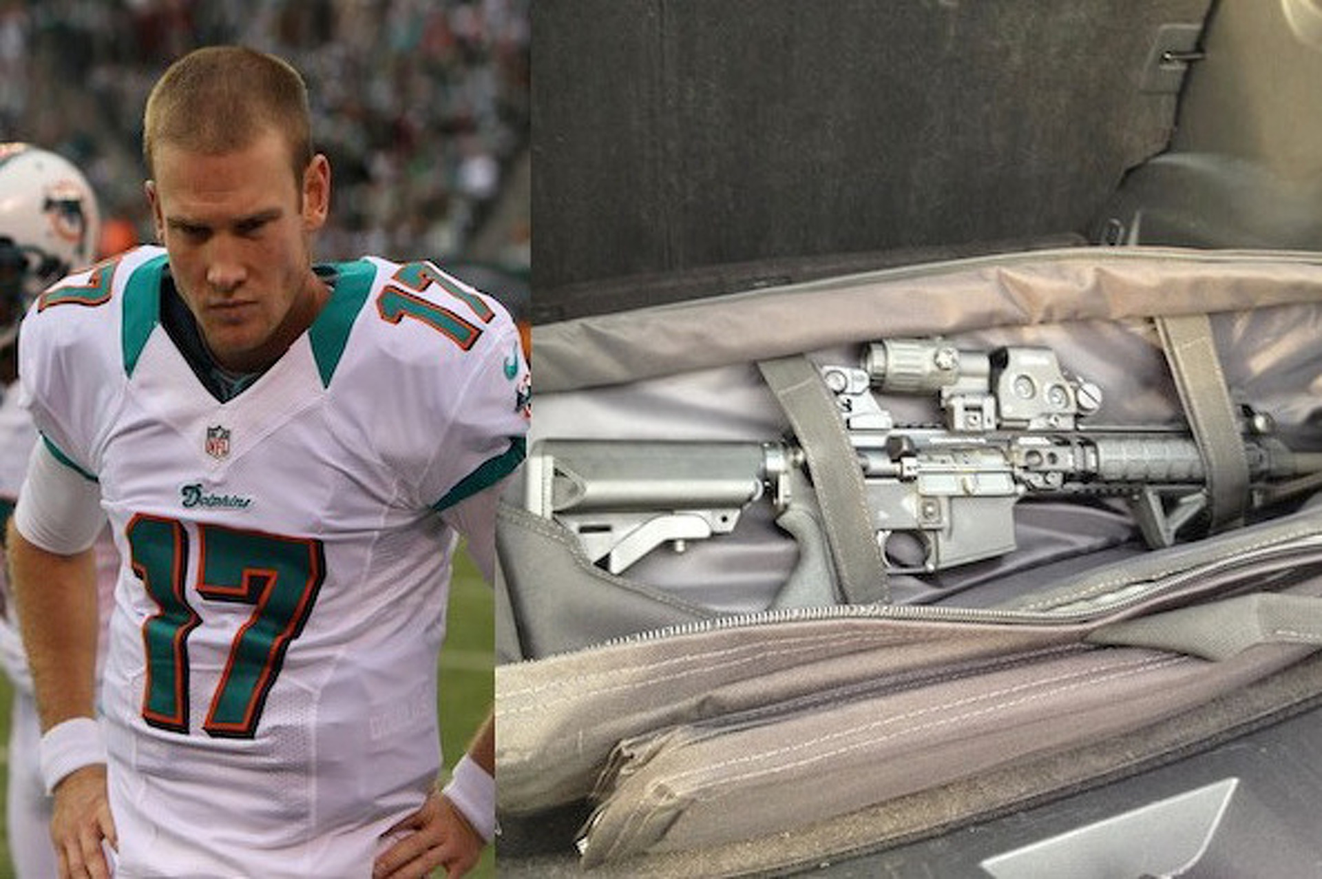 Ryan Tannehill Left an AR-15 Rifle in his Rental Car