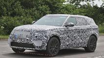 Range Rover Coupe spy photo