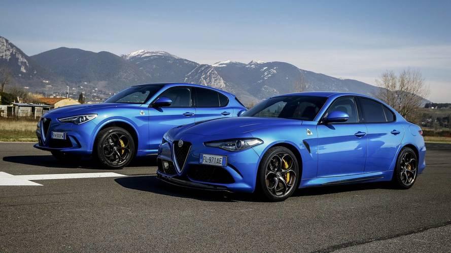 Alfa Romeo Giulia vs. Stelvio, ¿cuál es el Quadrifoglio más rápido?