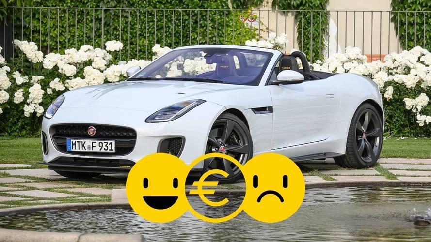 Promozione Jaguar F-Type Convertibile, perché conviene e perché no