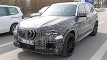 2020 BMW X5 M yeni casus fotoğraflar