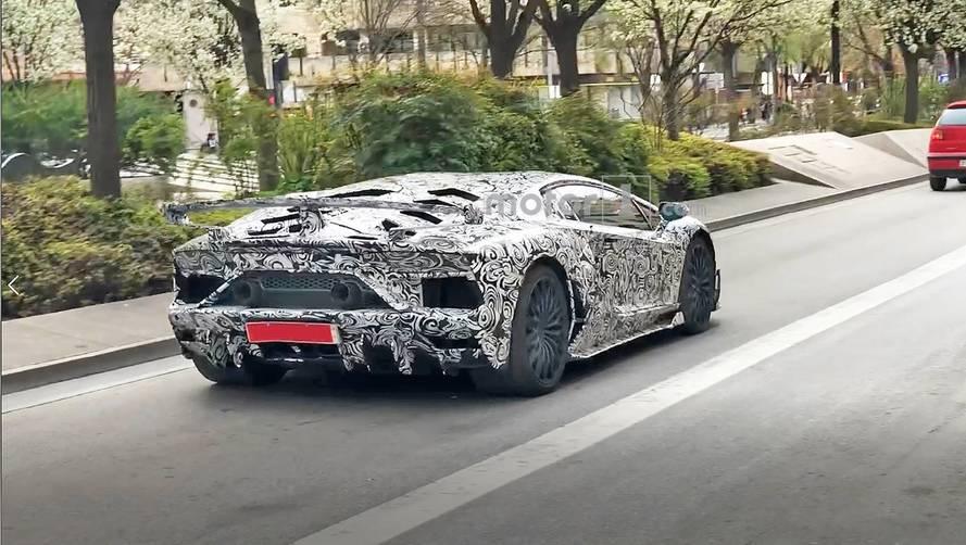 Lamborghini Aventador Superveloce Jota Spy Photos