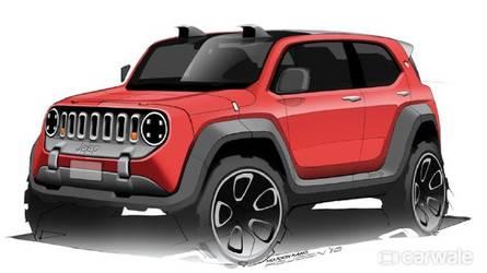 Jeep menor que o Renegade será vendido na América Latina