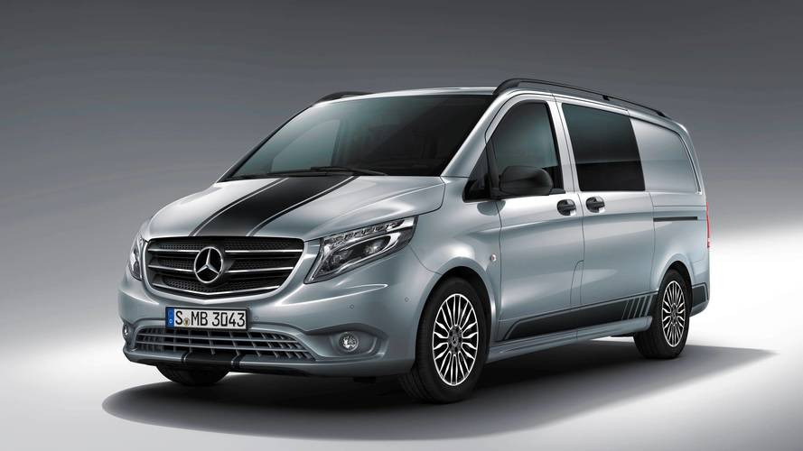 Watch out for silver van man –Mercedes launches sporty Vito
