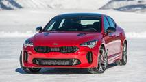 Kia Stinger Ice Driving