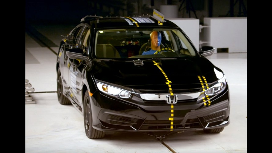 Mais seguro: novo Honda Civic 2016 ganha prêmio Top Safety Pick +