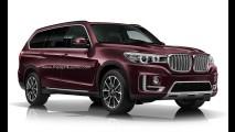 Grandalhão e luxuoso, BMW X7 chega em 2017 com motor 6.0 V12