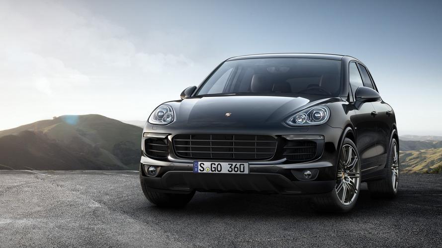 Porsche freshens up Cayenne S with Platinum Edition