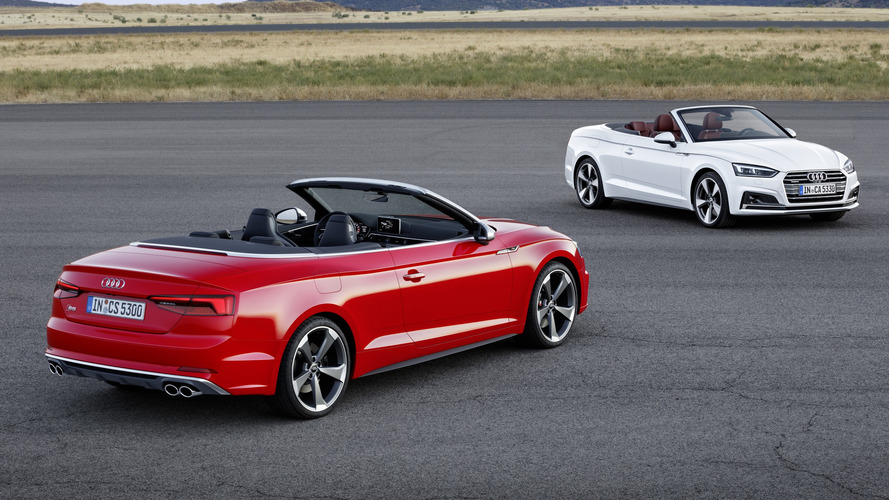 Audi A5 / S5 Cabriolet tanıtıldı