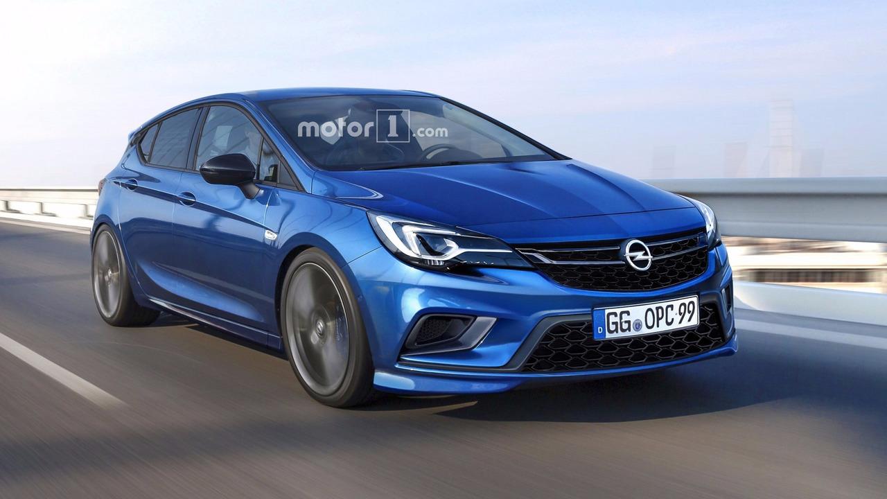 2018 Opel Astra OPC render