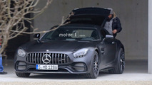 Mercedes-AMG GT C Coupe Edition 50 spy photo