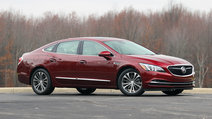 Report Says Buick LaCrosse To Get Snazzy Avenir Edition For 2018