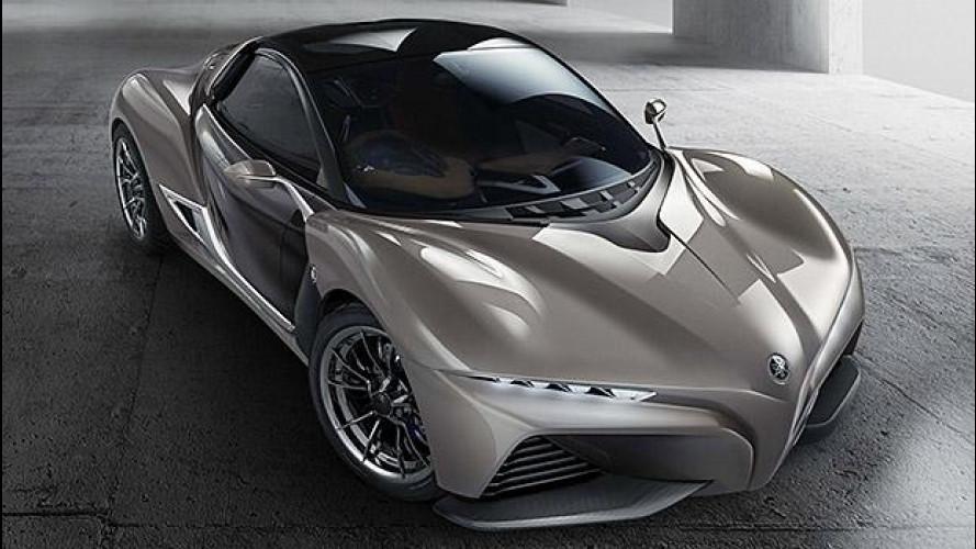 Yamaha Sports Ride Concept, 750 kg di piacere