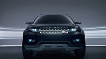 Land Rover Black and Silver LRX Hybrid Concept