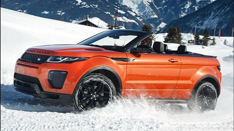 Range Rover Evoque Convertibile, la prova all'aria aperta