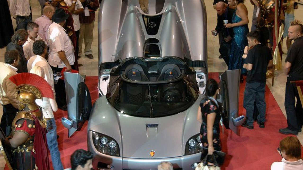 Koenigsegg CCX Makes it's official US debut