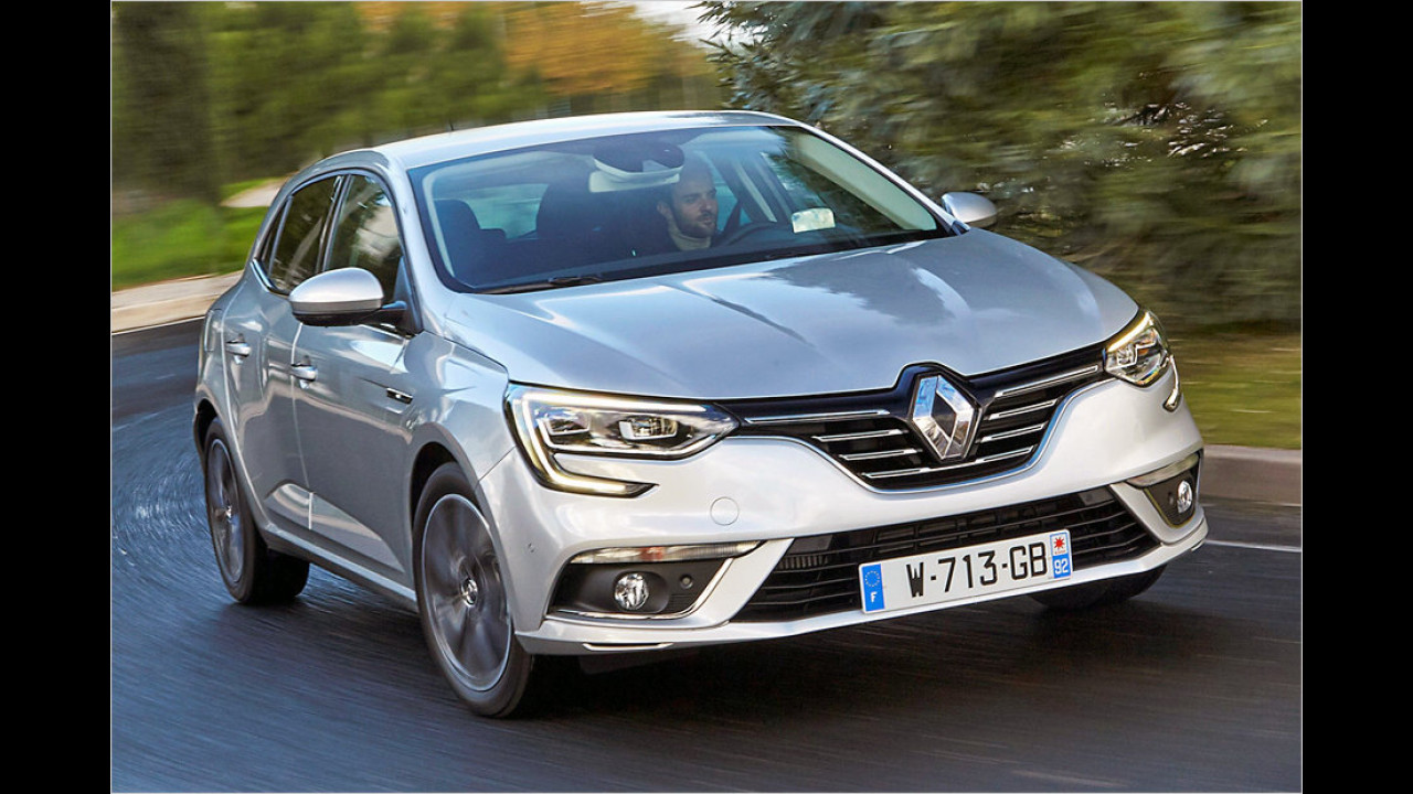 Kompaktwagen: Renault Mégane als stärkster Gewinner