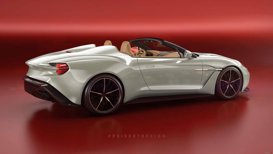 Unannounced Aston Martin Vanquish Zagato Speedster Rendered