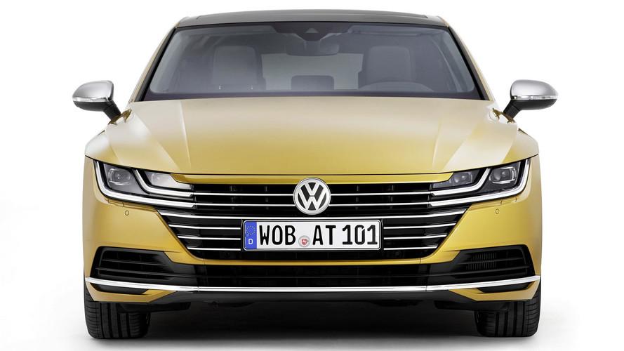 Volkswagen Arteon 2017 (nuevas fotos)
