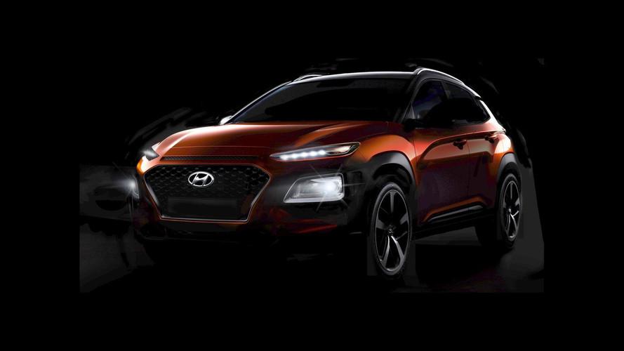 2018 Hyundai Kona'nın ilginç tasarımı ortaya çıktı!
