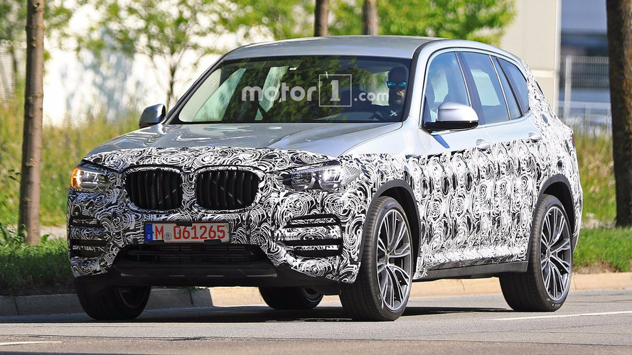 Next BMW X3 Spied Shedding Even More Camo