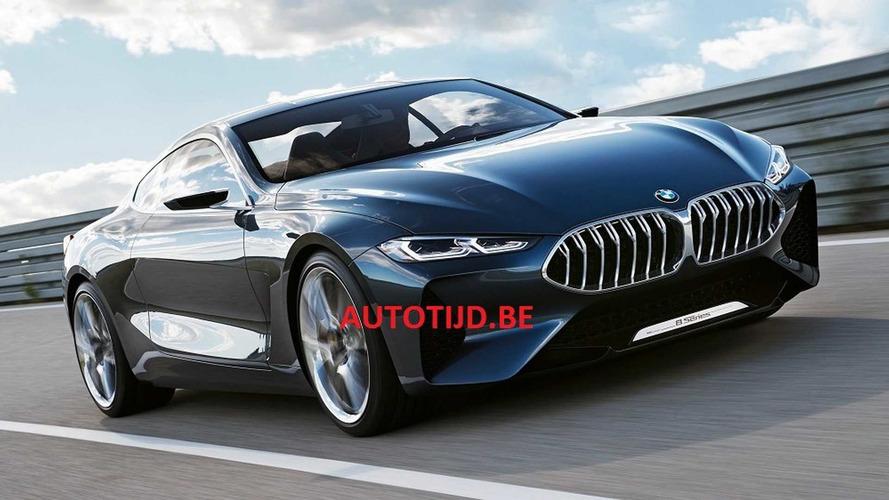 Filtrado el BMW Serie 8 Concept, un cupé entusiasmante