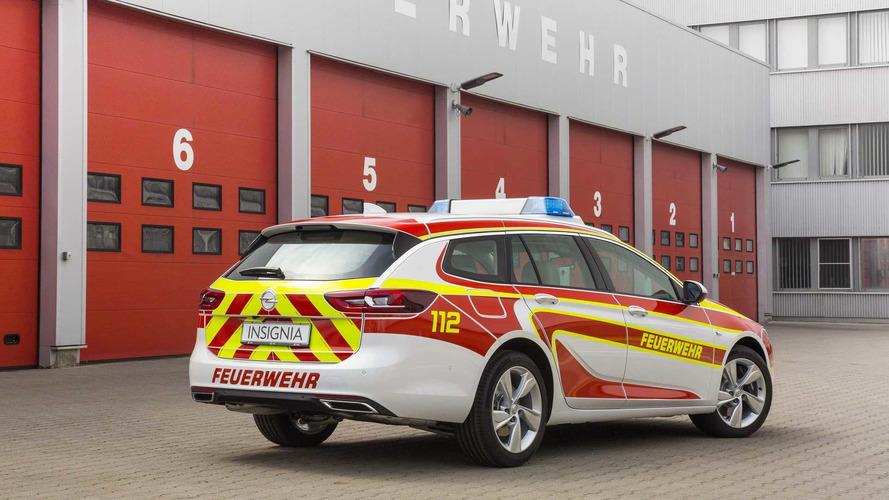 Opel Insignia Sports Tourer et Vivaro véhicules de secours