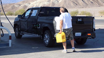 2019 Chevrolet Silverado diesel spy photo