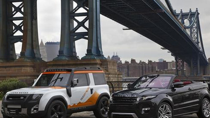 Land Rover DC100 Expedition concept revealed in New York early