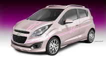 Chevrolet 'Pink Out' Spark for SEMA 22.10.2012