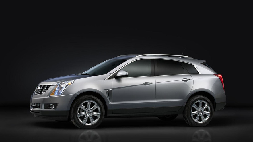 2013 Cadillac SRX facelift revealed