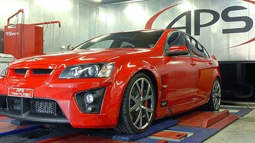 APS boosts Pontiac G8 GT to 557 bhp