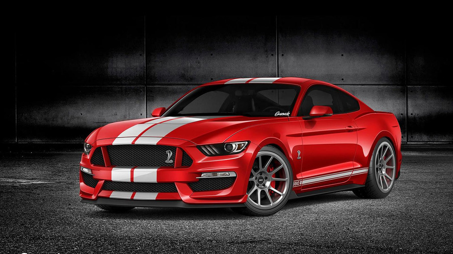 2016 Ford Mustang GT350 render shows what to expect