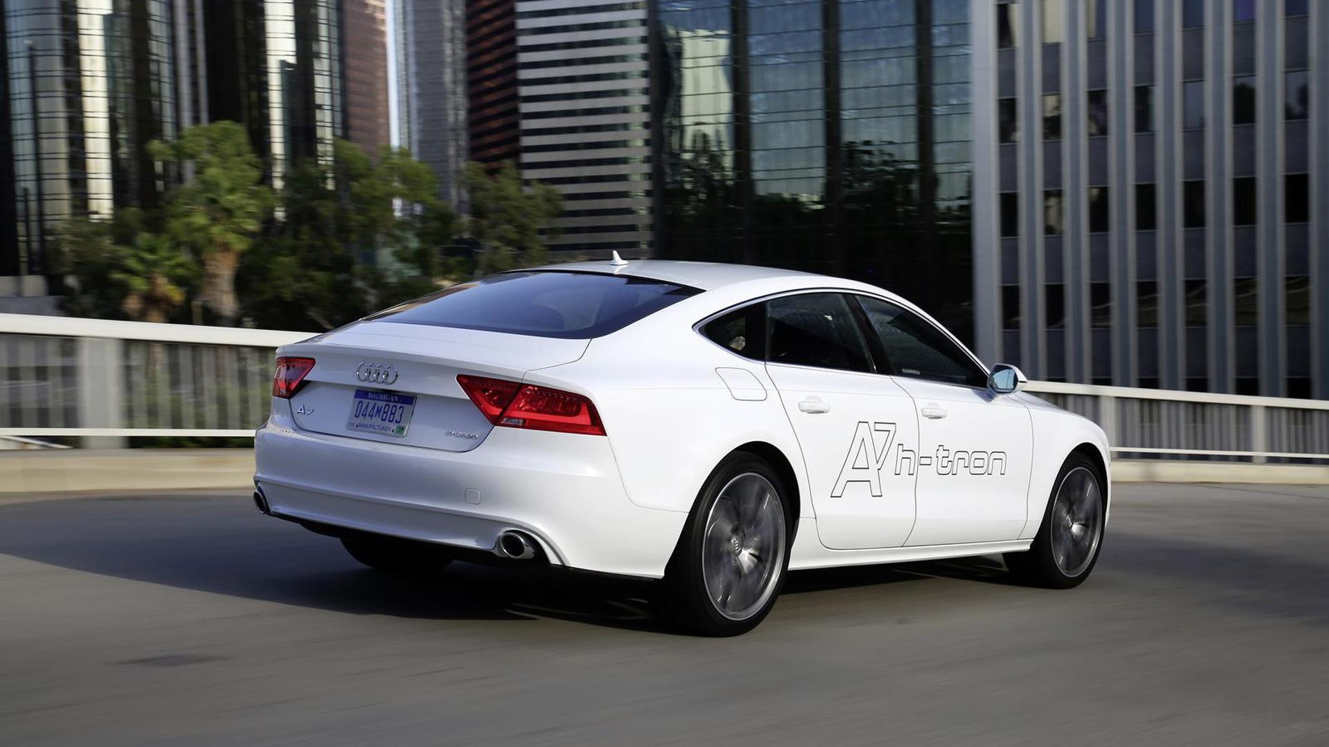 Водородная Audi A7 Sportback h-tron quattro