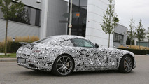 Mercedes AMG GT spied with possible aerodyanmic body kit