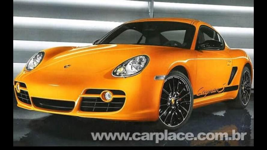 Porsche Cayman S Sport: Possível foto da nova versão já circula pela internet
