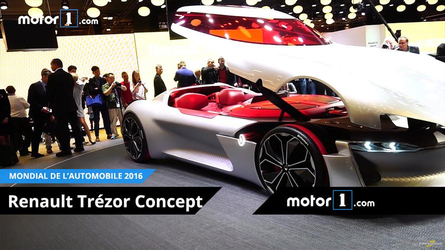 VIDEO - A la découverte du Renault Trezor!