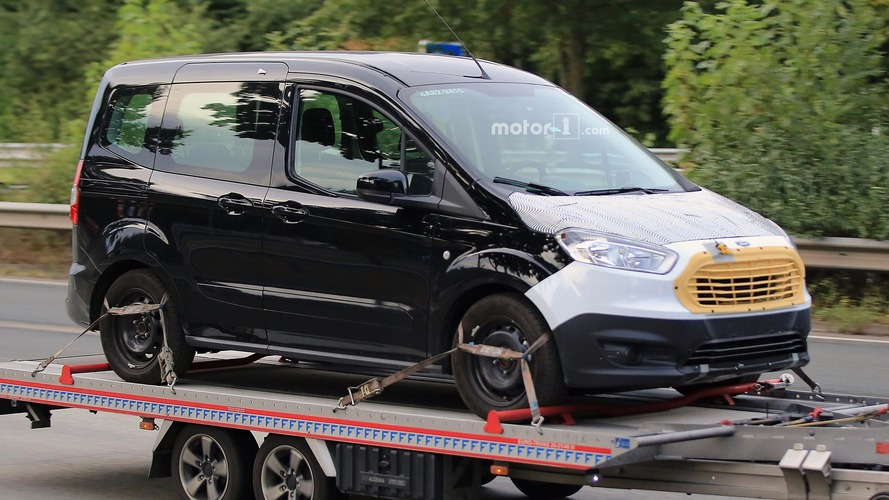 Ford Tourneo Courier spied with a fresher face