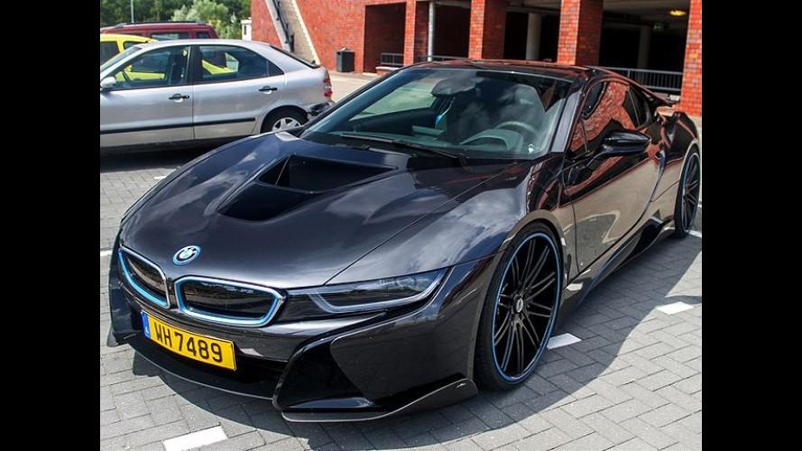 BMW i8 zaten çok güzel, AWE Schinitzer versiyonu ise Olağanüstü!