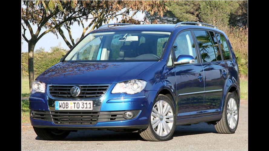 VW Touran 1.4 TSI: Aufgefrischter Parkkünstler mit 170 PS