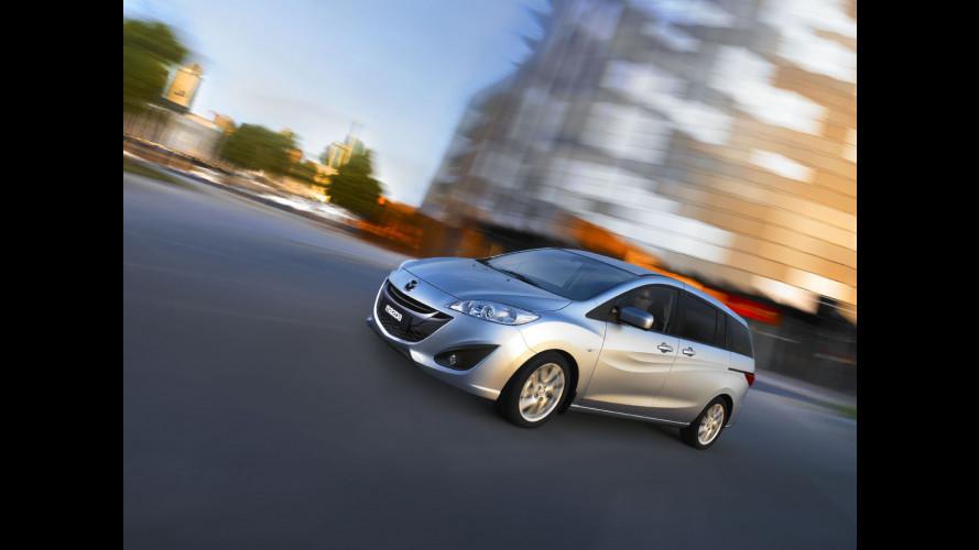 La Mazda5 sarà anche Nissan in Giappone