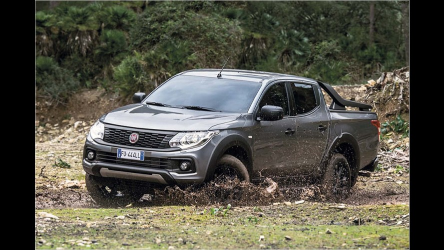 Fiat Fullback Cross: Schwarz-Malerei