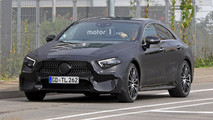 2018 Mercedes CLS new spy photos