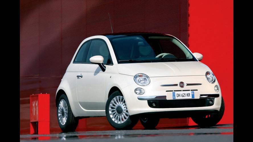 Il Giappone sorride alla Fiat 500