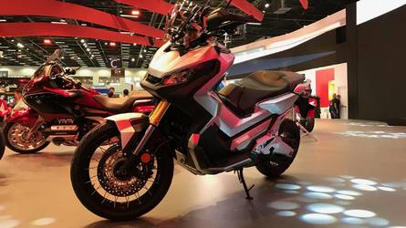 Salão Duas Rodas - Honda surpreende com scooter aventureira X-ADV