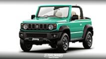 Suzuki Jimny convertible tasarım yorumu