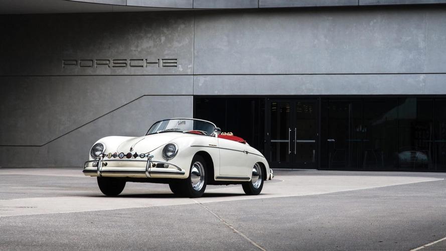 Un Porsche 356 A 1600 Super Speedster original, a subasta