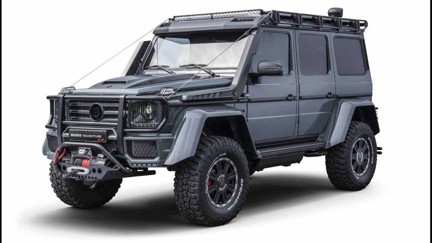 Brabus Adventure 4X4 Proves The Old Mercedes G-Class Is Still Mean