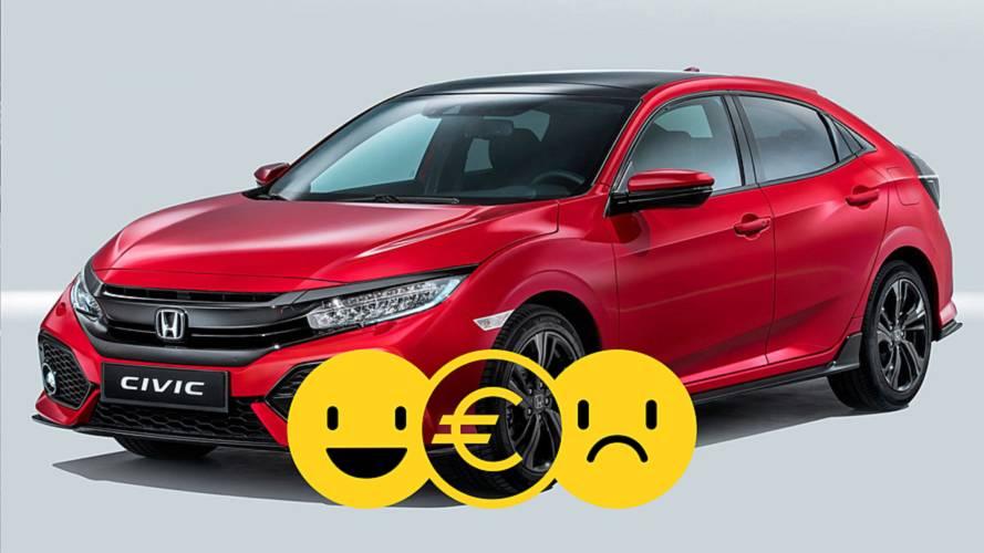 Promozione Honda Civic, perché conviene e perché no