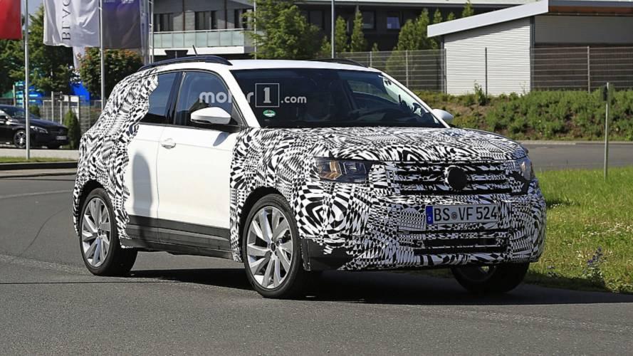 Volkswagen T-Cross 2018: fotos espía antes de la presentación oficial